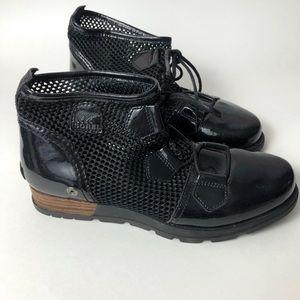 Sorel Major Lace Mesh Ankle Boots NL2165-010